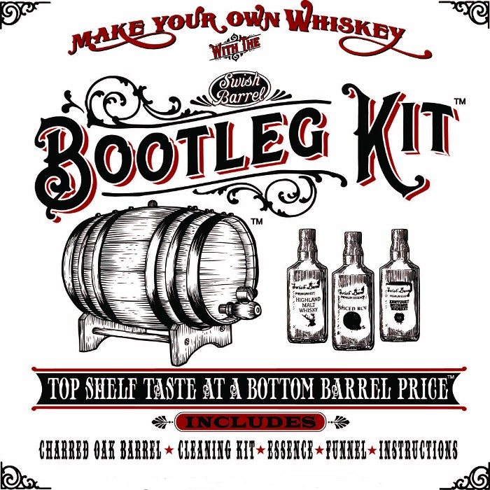 Honey Bourbon Whiskey White Oak Barrel Making Kit