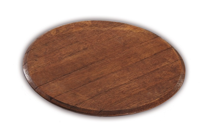 Lazy Susan made from French Wine Barrel Staves