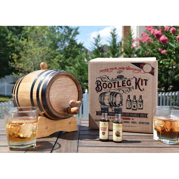 Mark's Bourbon Whiskey Making Bootleg Kit
