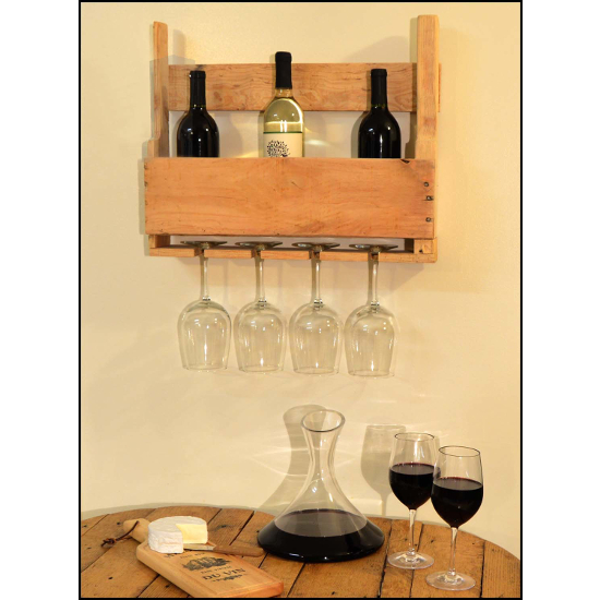 Half Pallet Wine and Whiskey Rack