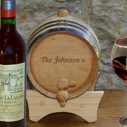 Wine Cask Personalized Barrel
