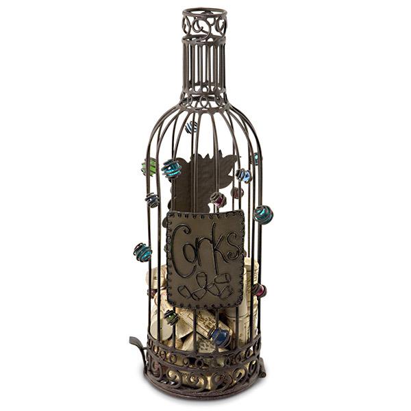 The Original Cork Cage Wine Bottle Cork Cage