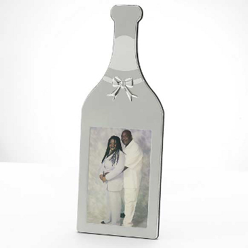 Wine Bottle Photo Frame
