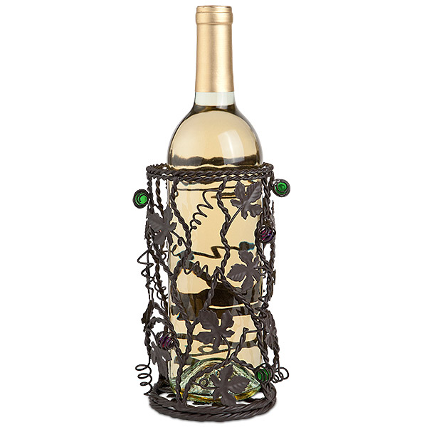 Twisted Vines Grapevine Wine Bottle Holder