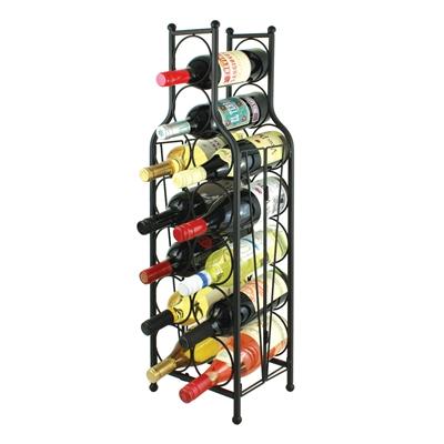 Wine Bottle Matrix, Wine Bottle Shaped Wine Rack