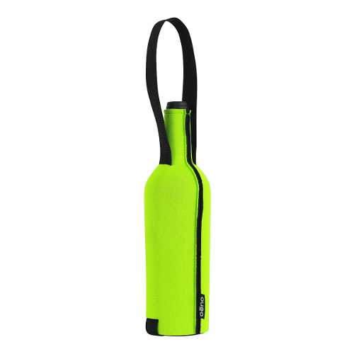 Wine Bottle Slip - Lime