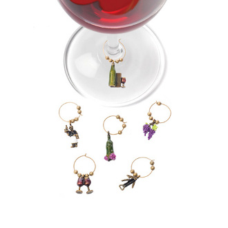 Wine Connoisseur Glass Charms