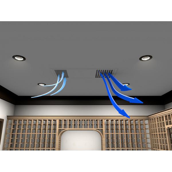 WhisperKool Ceiling Mount 8000 Wine Cellar Cooler