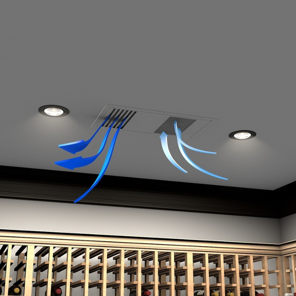 WhisperKool Mini Ceiling Mount Wine Cellar Cooler
