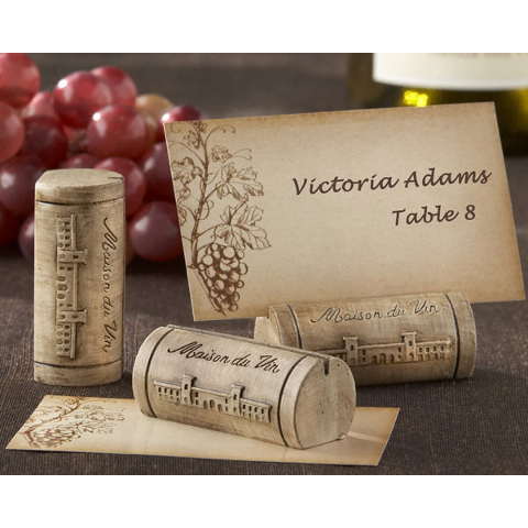 Wine Cork Place Card Holders Set Of 24