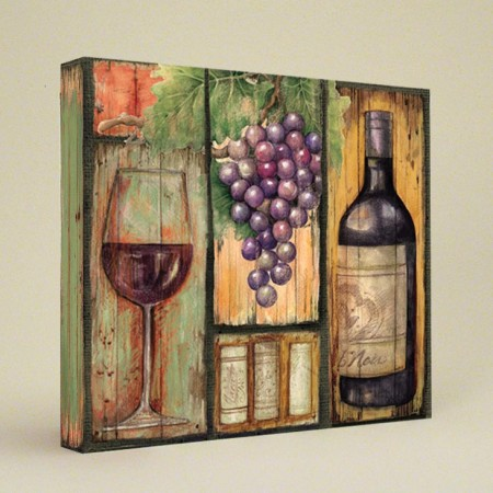 Wine Country Recipe Card Album