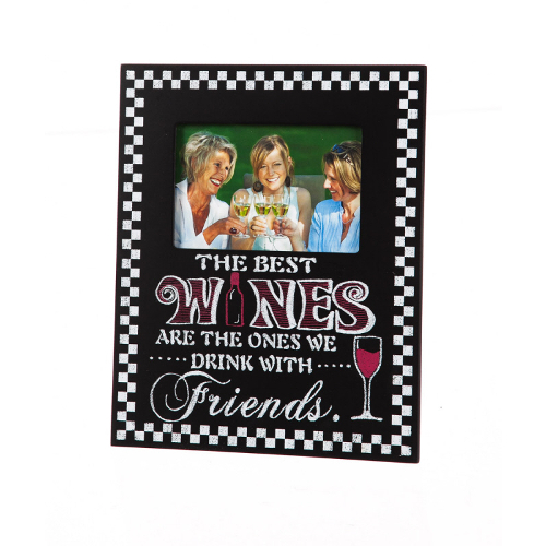 The Best Wines and Friends Picture Frame