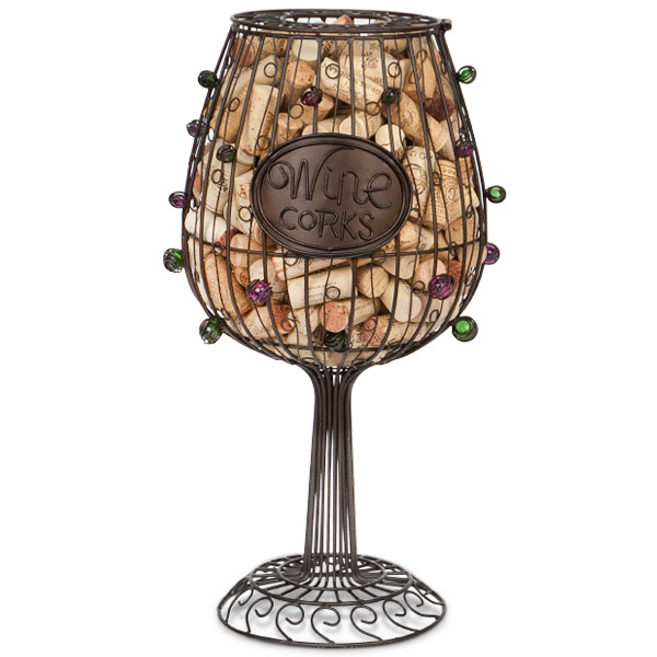 Wine Glass Cork Cage, Large