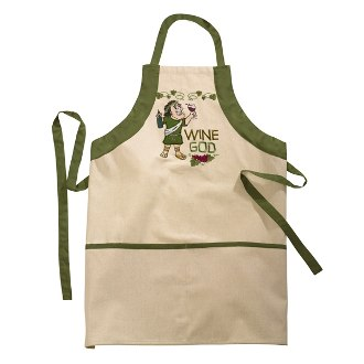 Wine God Apron