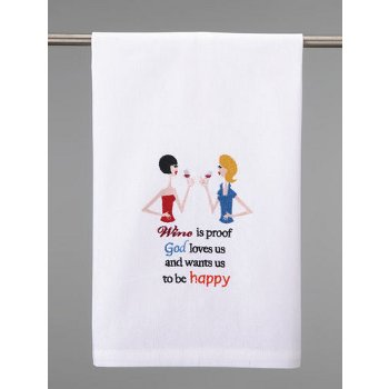 Wine Is Proof That God Loves Us Towel