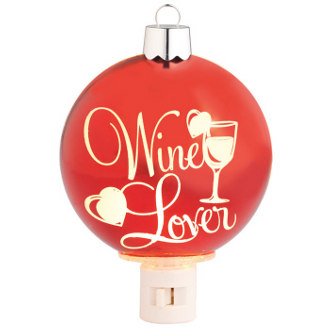 Wine Lover Night Light