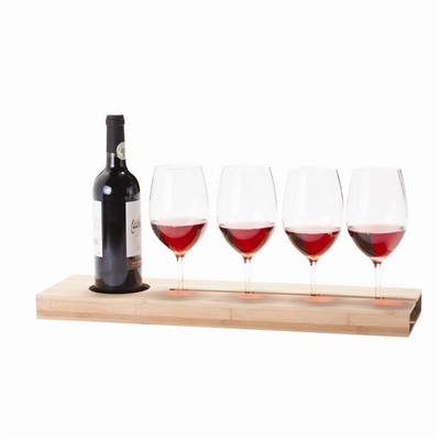Wine Tasting Flight Serving Tray