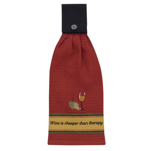 Wine Therapy Hand Towel