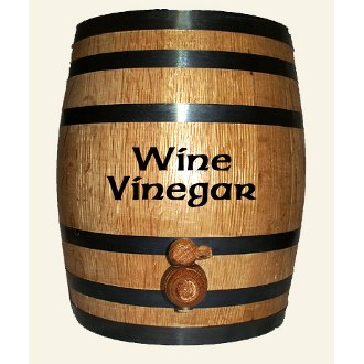 Wine Vinegar Aging White Oak Barrel