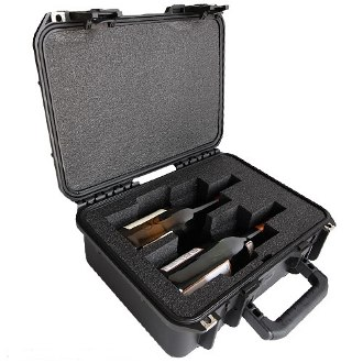 Ultimate Wine Suitcase 2 Bottle Wine Carrier
