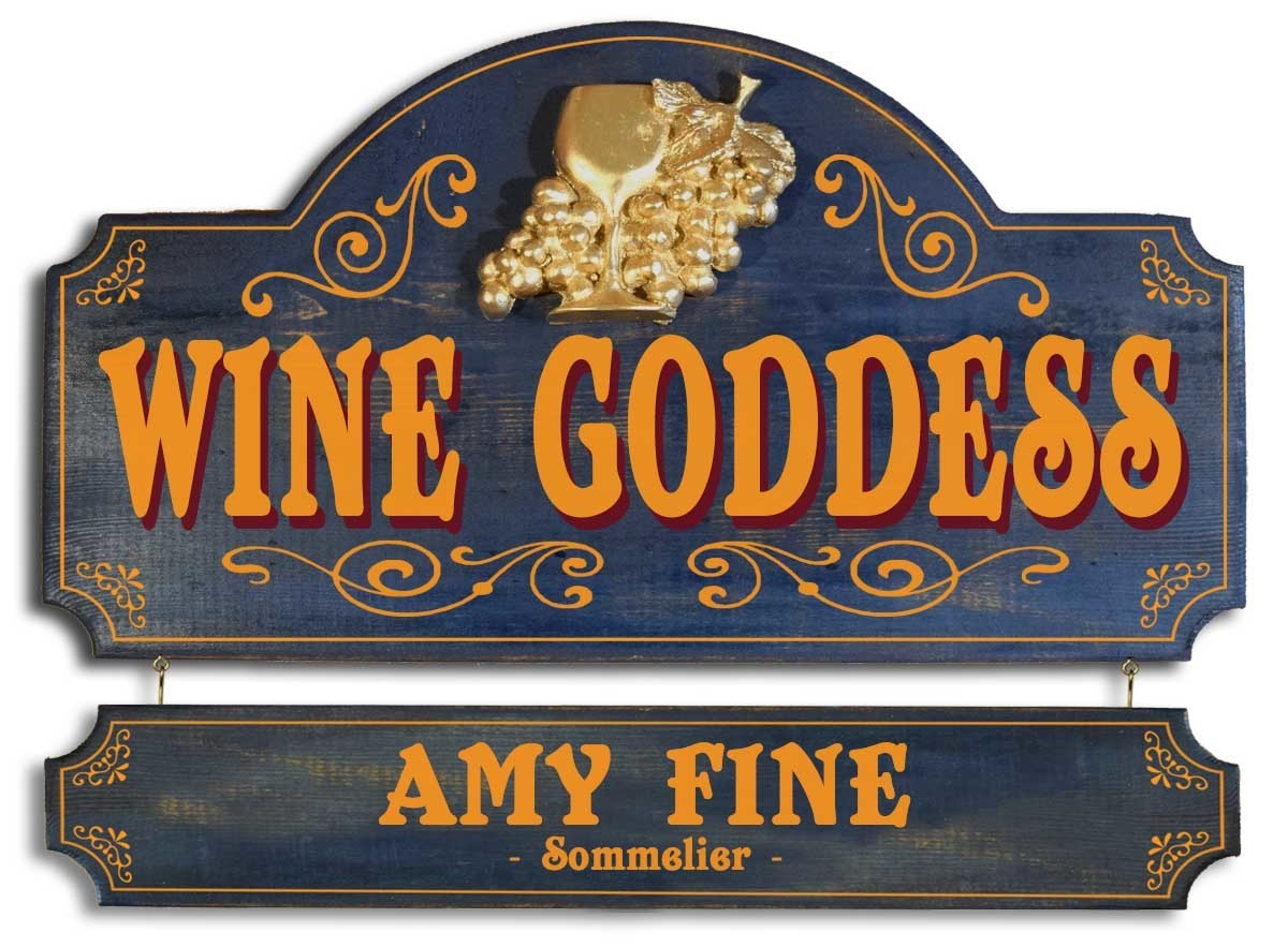 Wine Goddess Sign