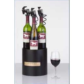 WineKeeper The Noir 3-Bottle Wine Preservation System