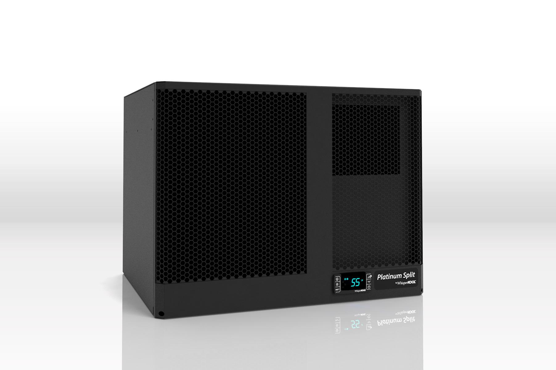 WhisperKool Water Cooled Platinum Split 4000WC Cellar Cooling Unit