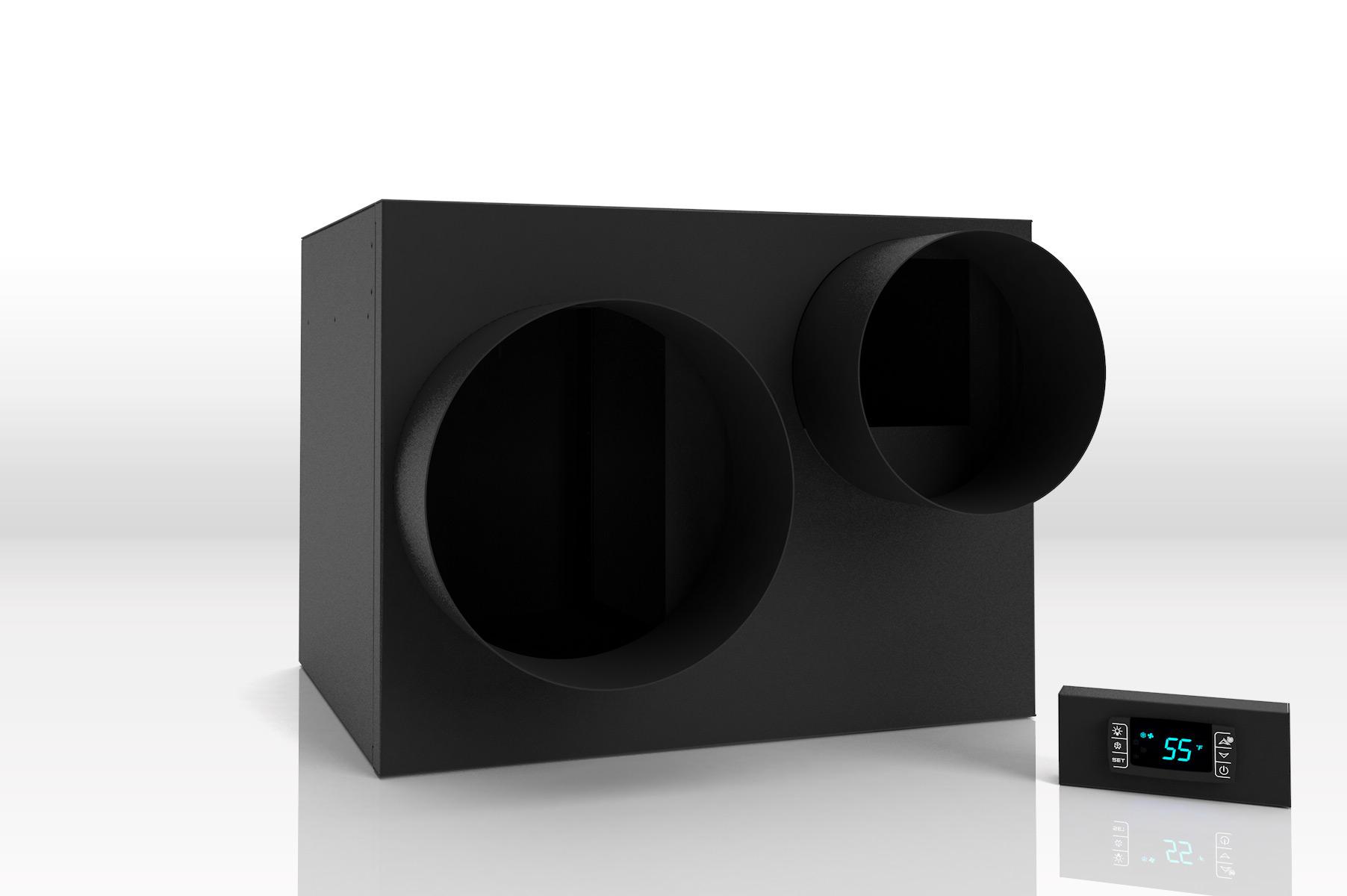 WhisperKool Platinum Split 4000 Ducted Wine Cellar Cooling Unit