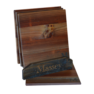 Wooden Place Mat Stand