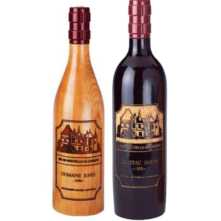 Personalized Chateau Bottle Peppermills (set of 2)