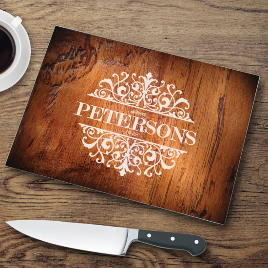 Tempered Glass Housewarming Cutting Board
