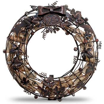 Wreath Wine Cork Cage