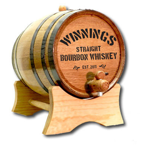 Your Name Straight Whiskey Oak Barrel