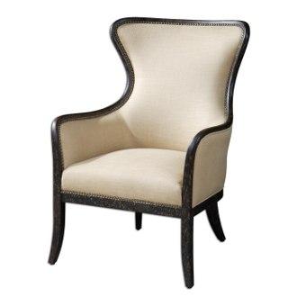 Uttermost Zander Wing Chair