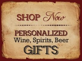 Personalized Wine, Spirits and Beer Gifts